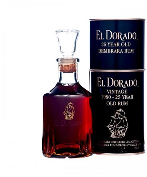 EL DORADO RON 25 AÑOS 0.7Lx6b