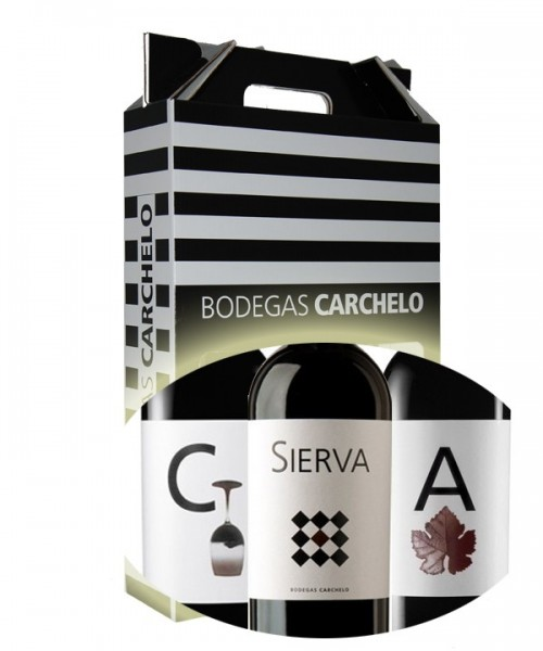 PACK REGALO CARCHELO+ALTICO+SIERVA