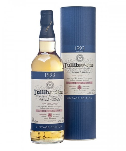 TULLIBARDINE VINTAGE 1993 SINGLE MALT 0,7
