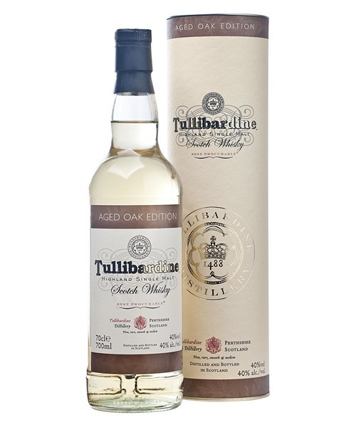 TULLIBARDINE AGED OAK SINGLE MALT 0,7