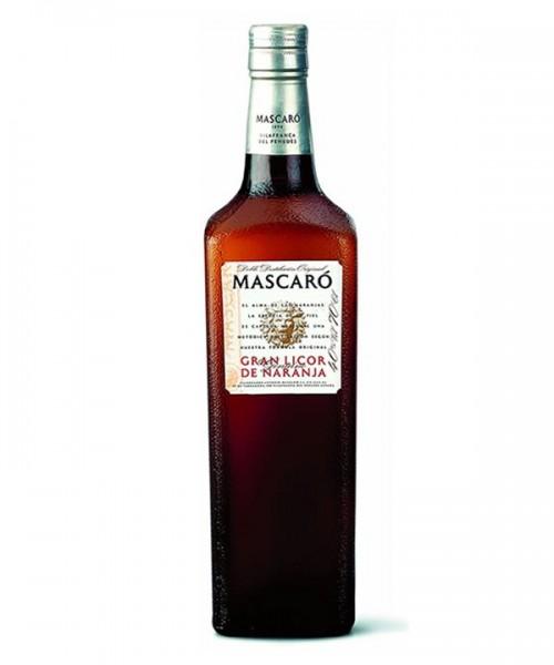 MASCARO GRAN LICOR NARANJA 0.7Lx6b