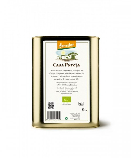 CASA PAREJA Extra Virgin Olive Oil ECO 5L