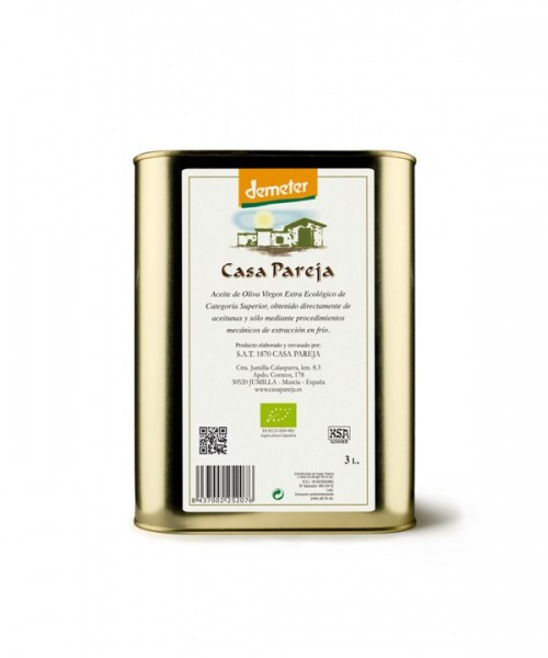 CASA PAREJA Extra Virgin Olive Oil ECO 3L