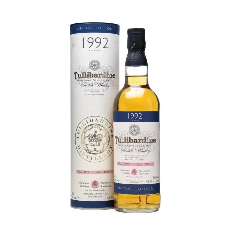 TULLIBARDINE VINTAGE 1992 S. MALT 0,7x6b