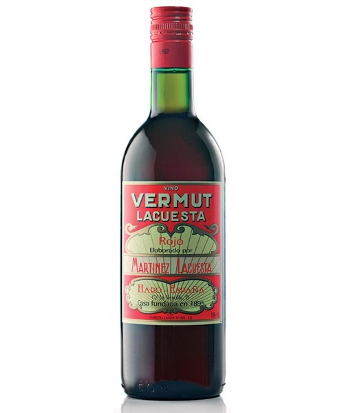 LACUESTA VERMOUTH RED 3/4