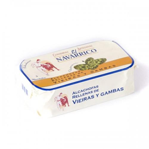 NAVARRICO Artichokes Scallops-Prawns 1/2kg