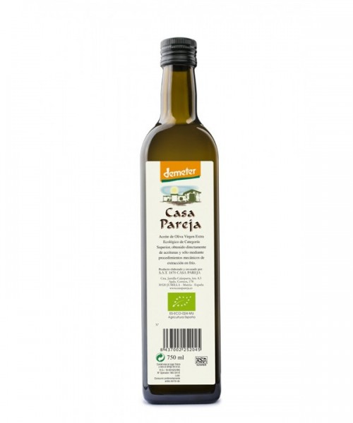 CASA PAREJA Olive Oil Extra Virgin ECO 3/4